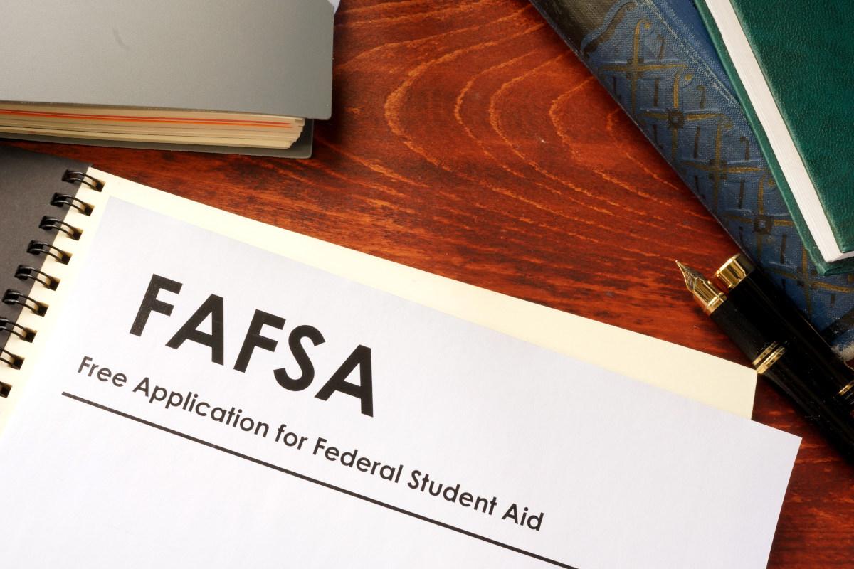 An application for FAFSA